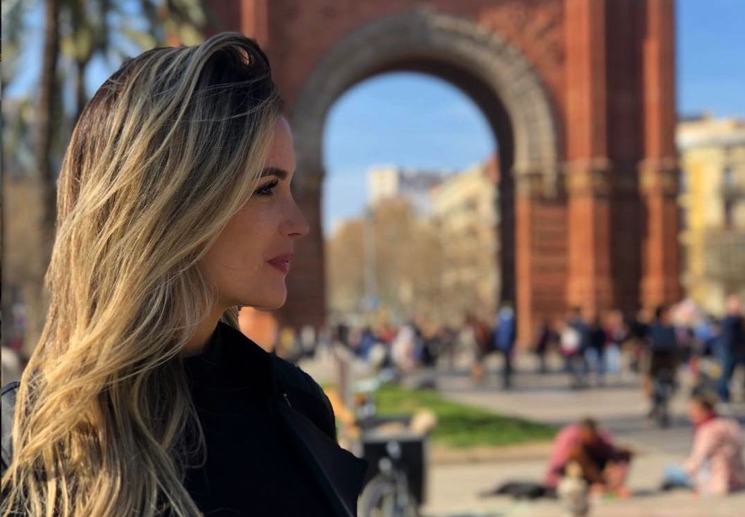 Rebecca Lima, a Barcelona - Instagram