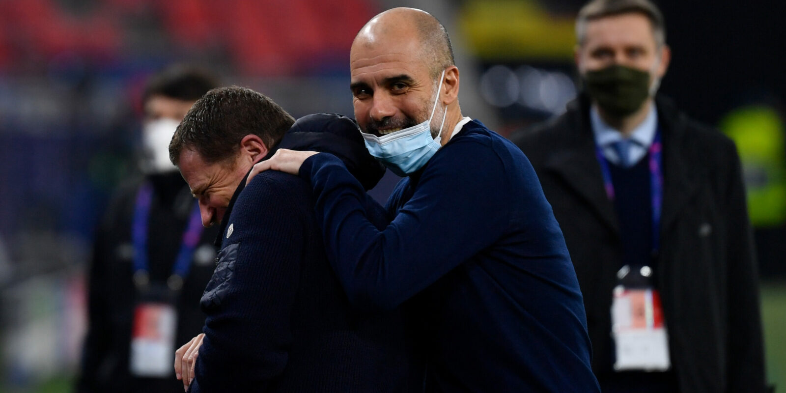 Pep Guardiola, entrenador del Manchester City   Europa Press