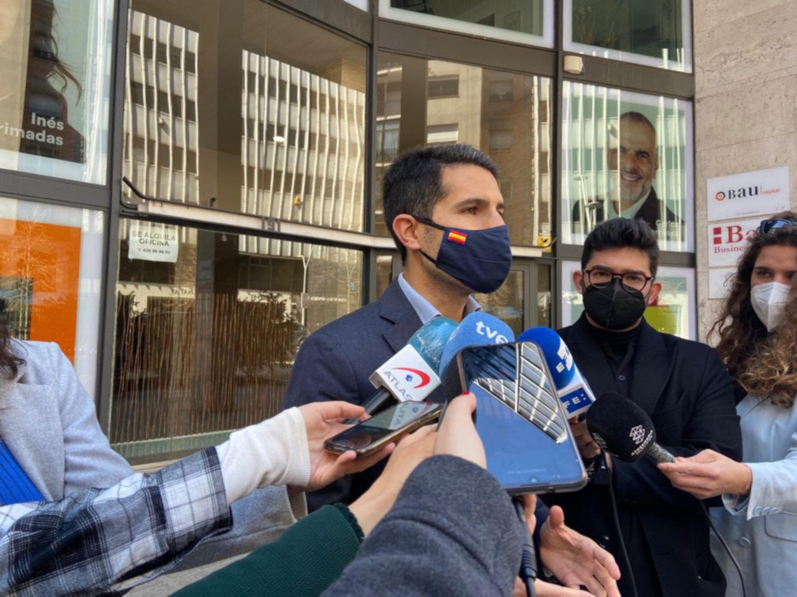 El portaveu del grup parlamentari de Cs, Nacho Martín Blanco | ACN