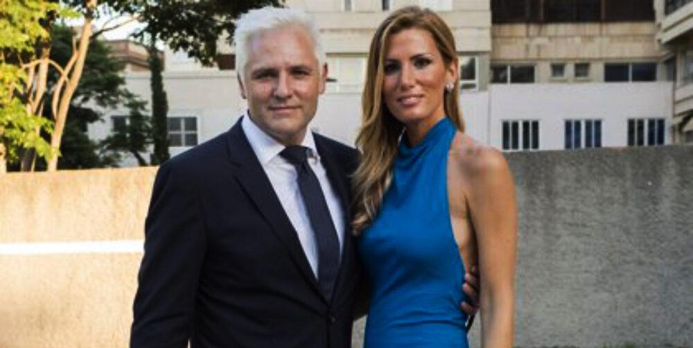 Santi Cañizares i la seva dona - Europa Press