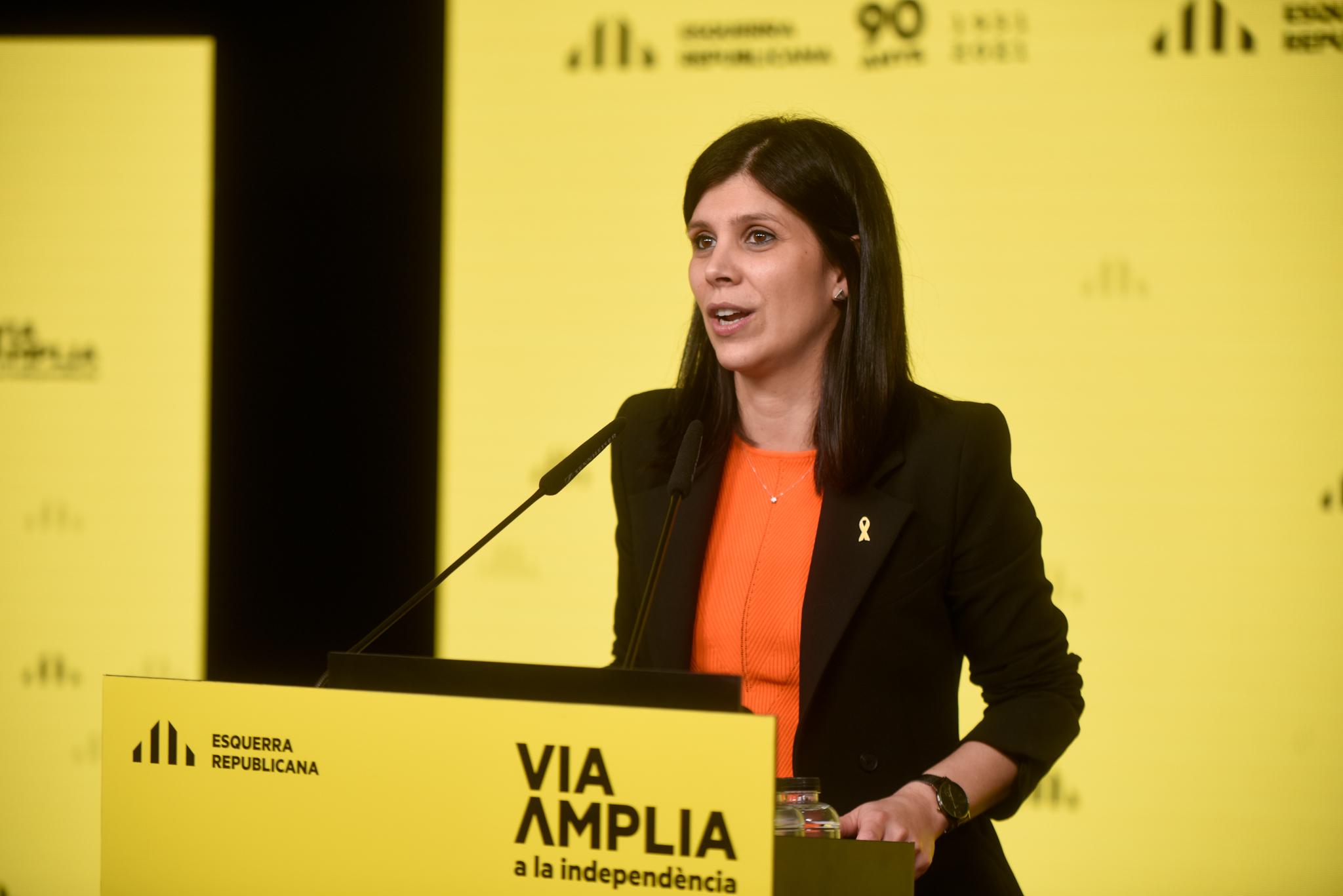 La secretària general adjunta d'ERC, Marta Vilalta | ACN