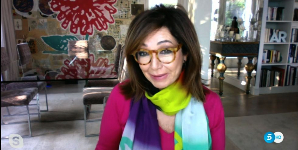 Ana Rosa Quintana fa teletreball - Telecinco