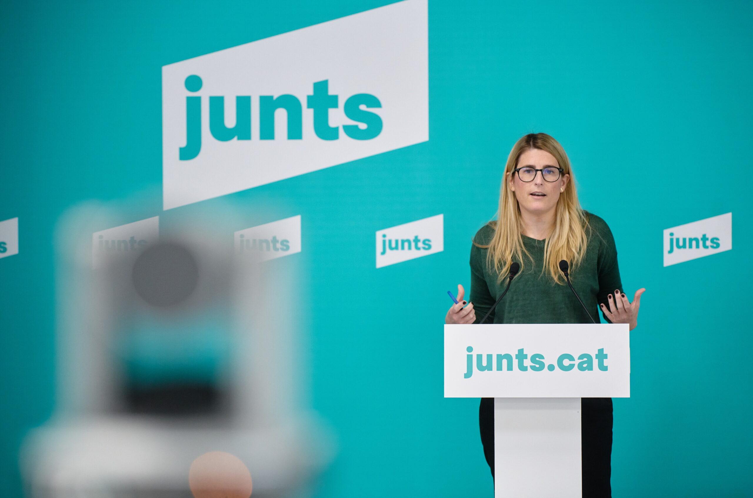 La portaveu de JxCat, Elsa Artadi | ACN