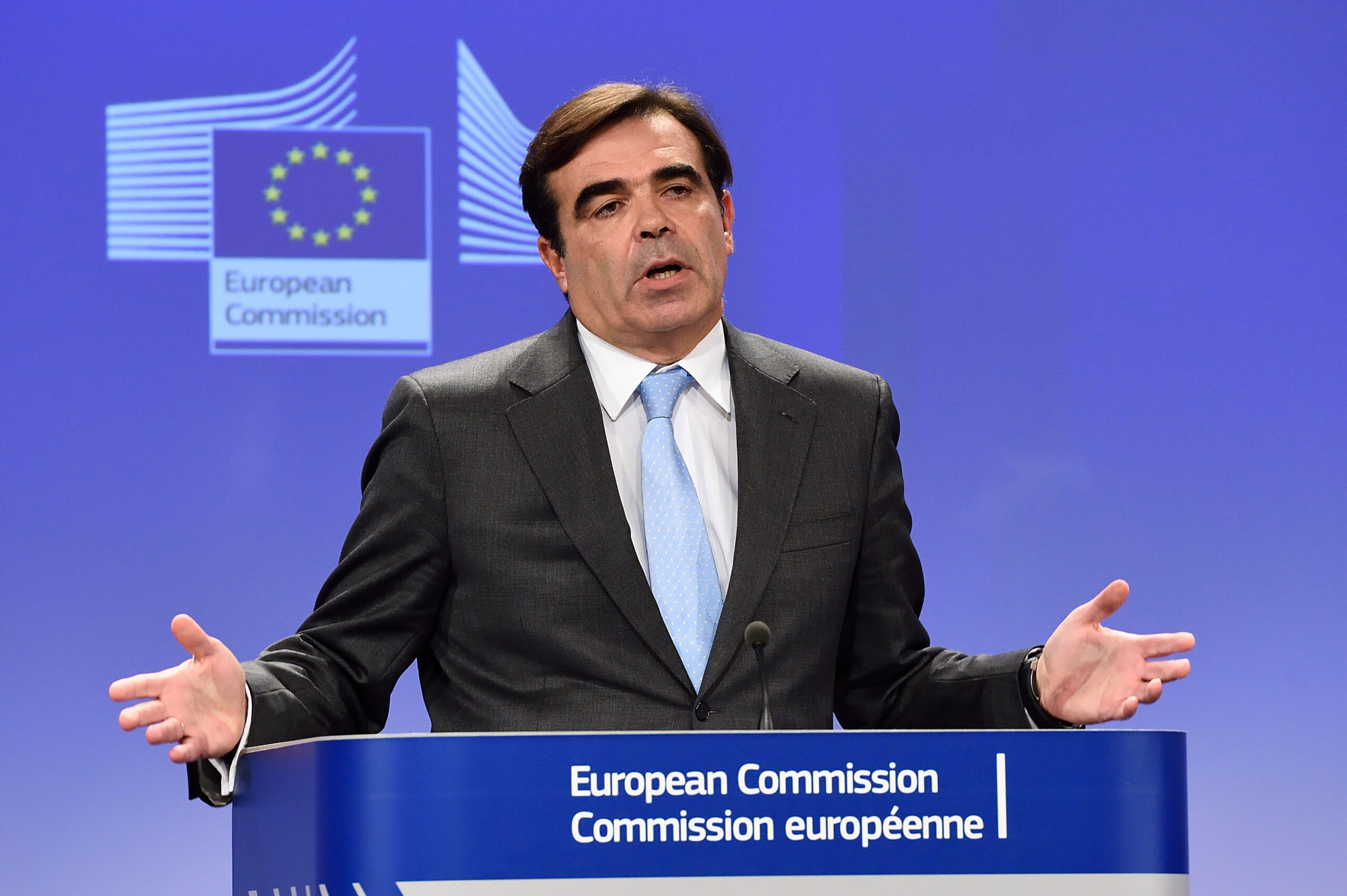 El vicepresident de la Comissió Europea, Margaritis Schinas | ACN