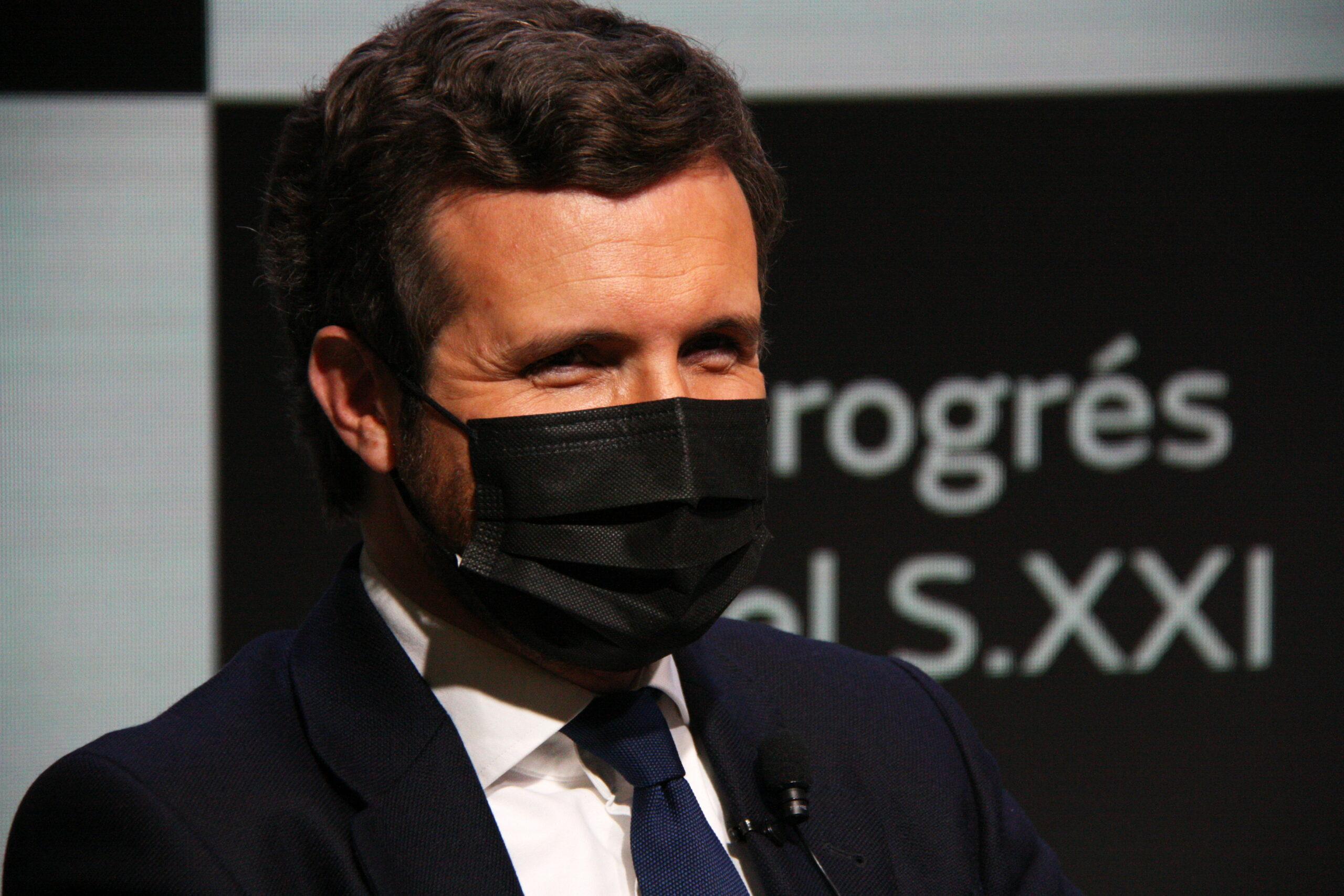 El president del PP, Pablo Casado | ACN