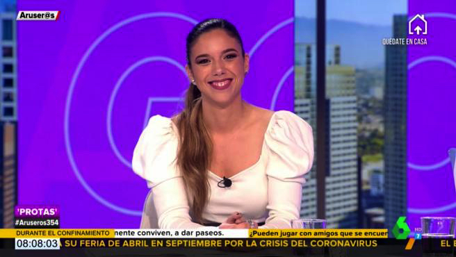 Tatiana Arús a 'Aruser@s' - La Sexta