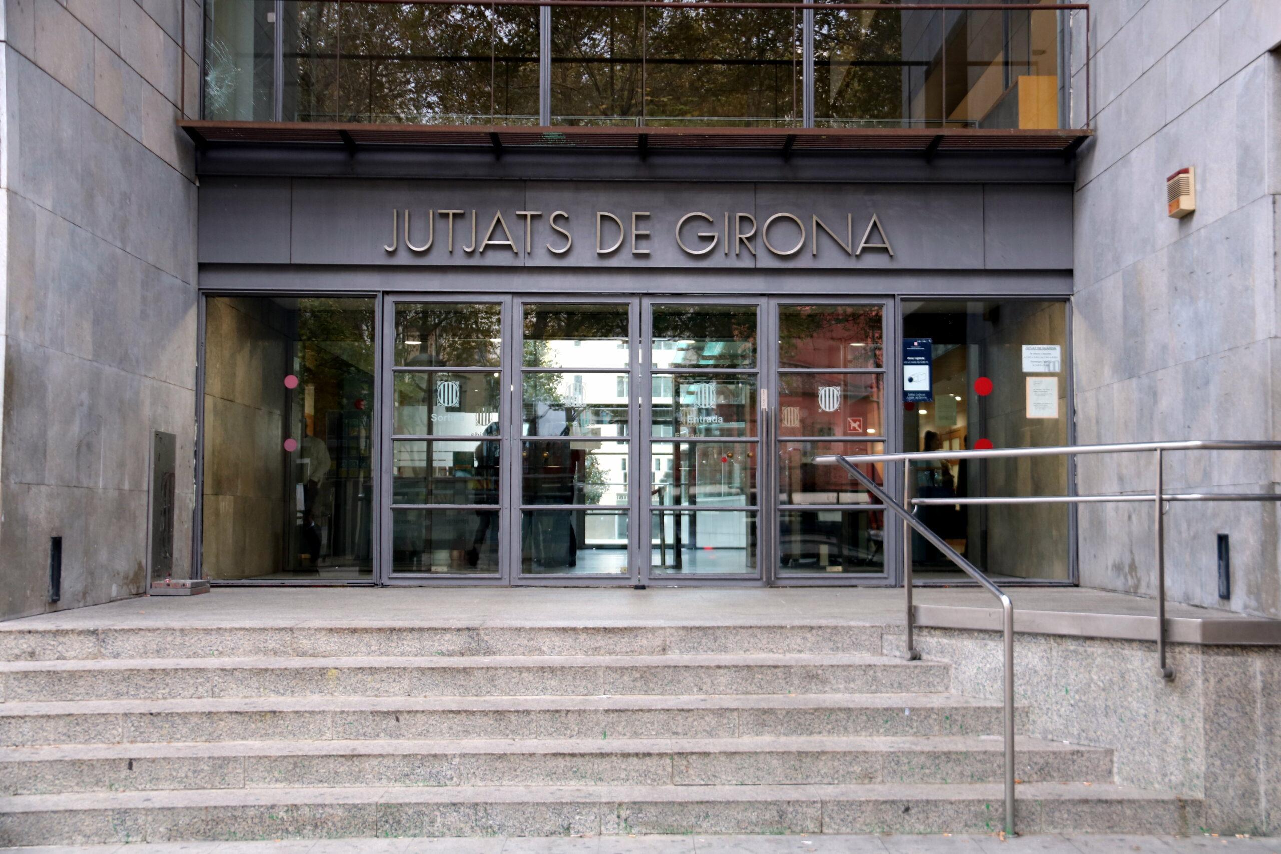 La façana dels jutjats de Girona, on s'ha jutjat el cas / ACN
