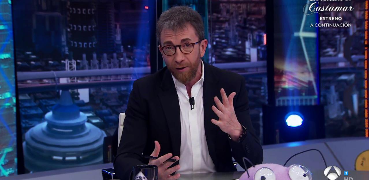 Pablo Motos, durant l'últim programa d'El Hormiguero - Antena 3