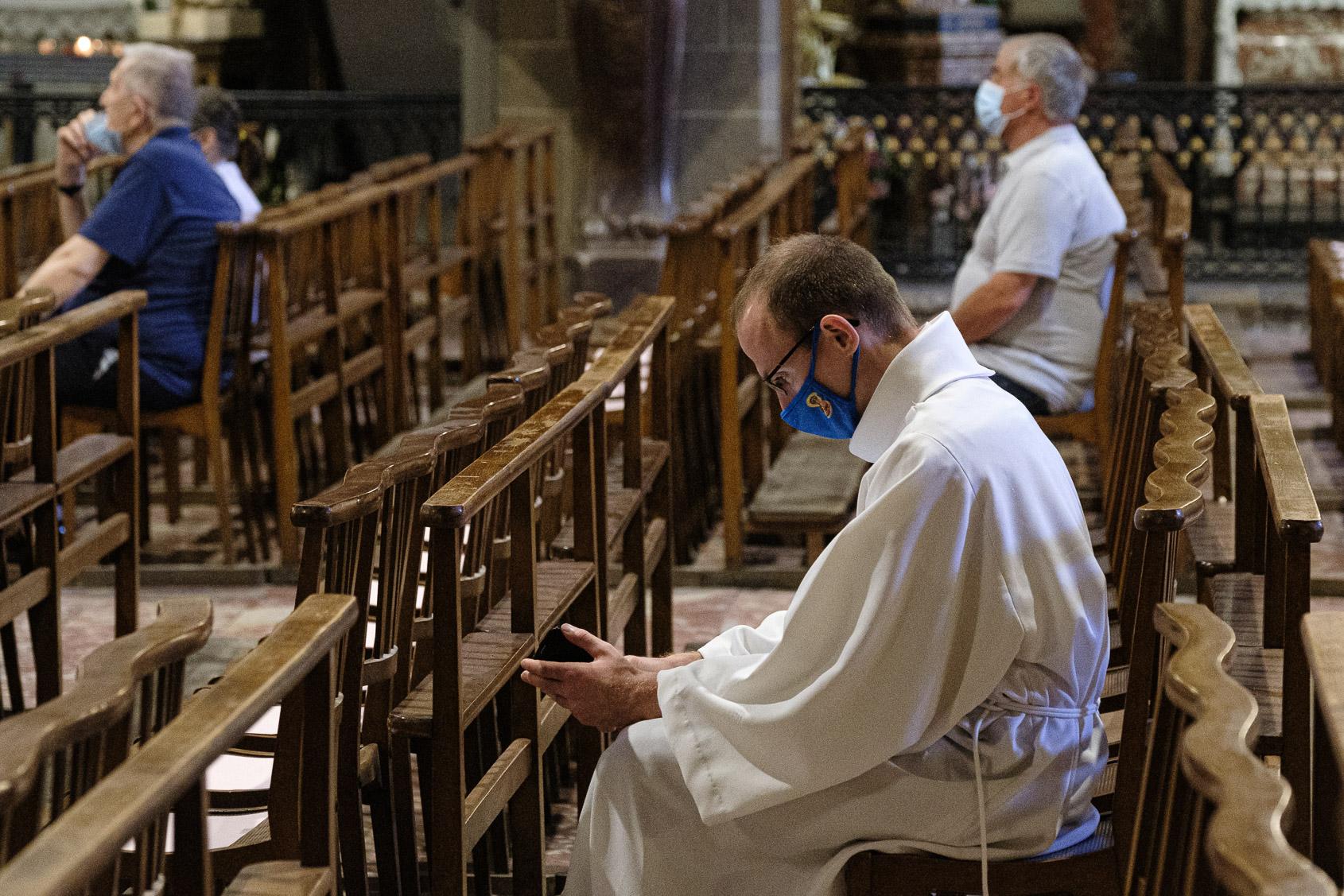 Catedral de Perpinyà aquest estiu / Jordi Borràs