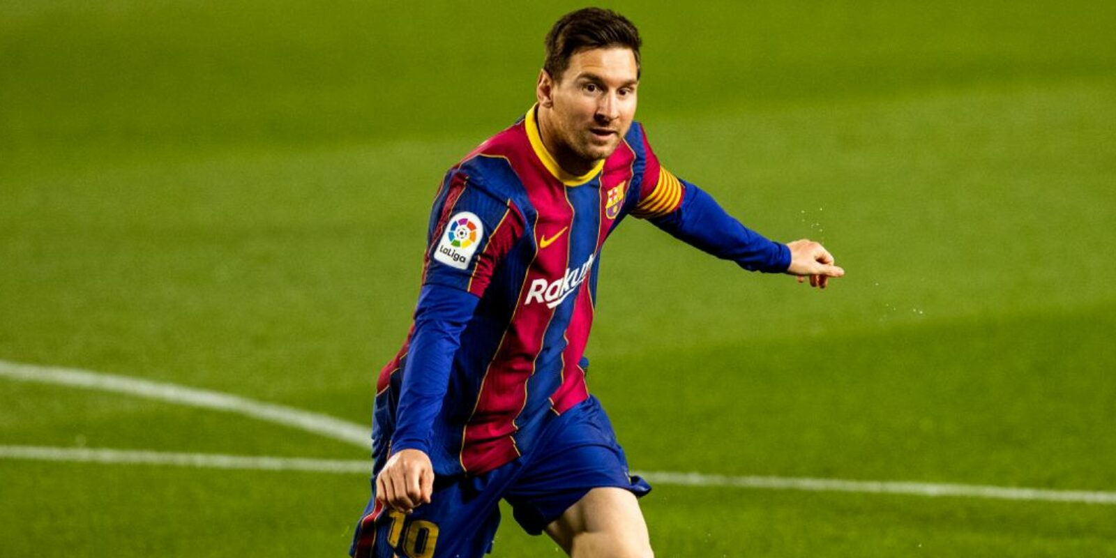 Leo Messi celebra un gol | FC Barcelona