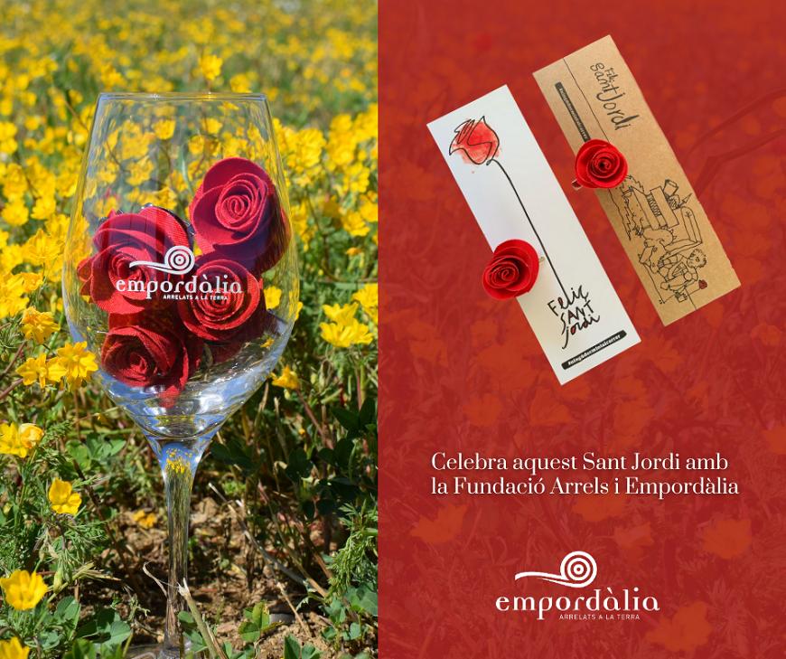 Les roses solidàries d'Empordàlia i la Fundació Arrels   Empordàlia
