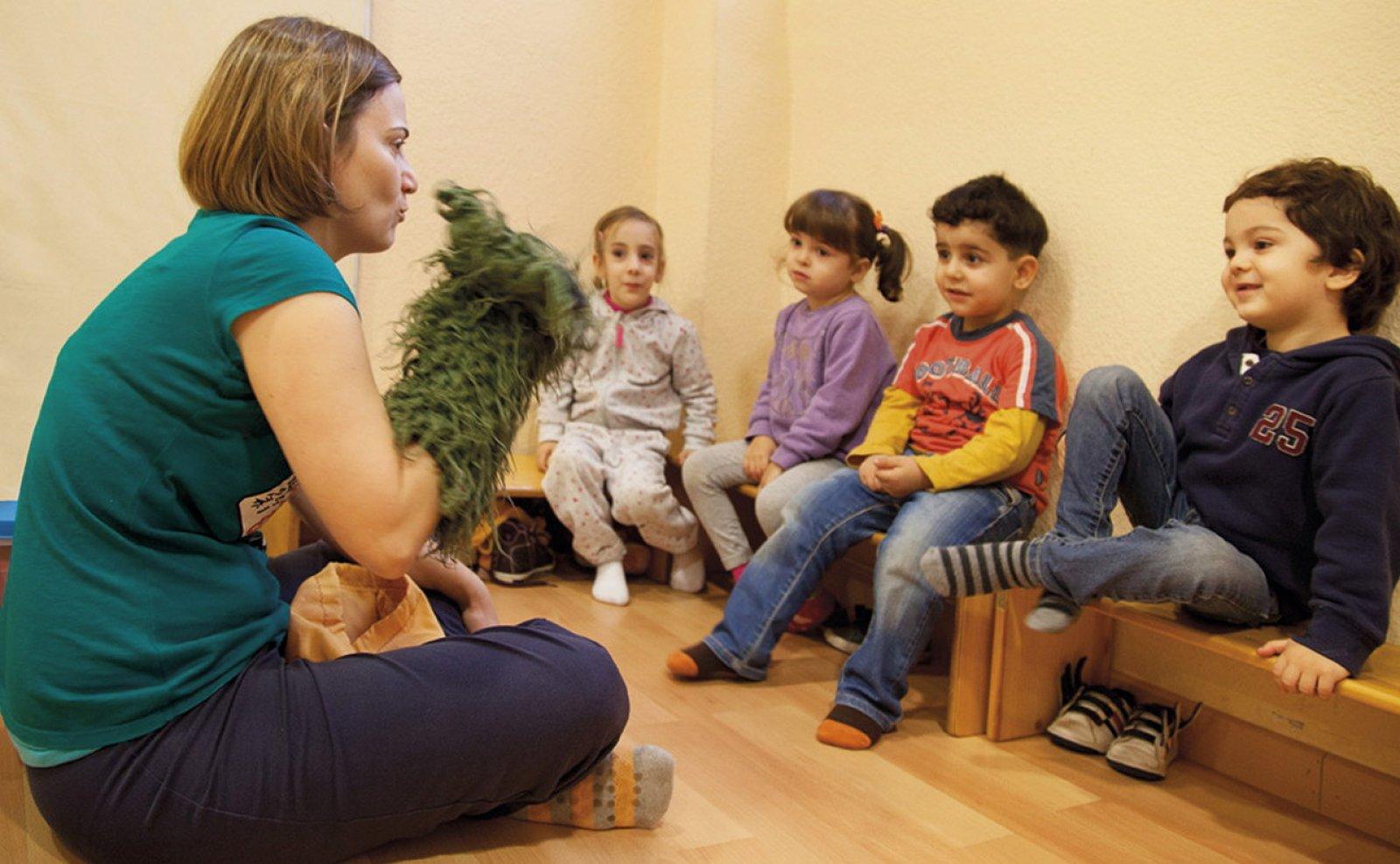 Una sessió del centre Magroc