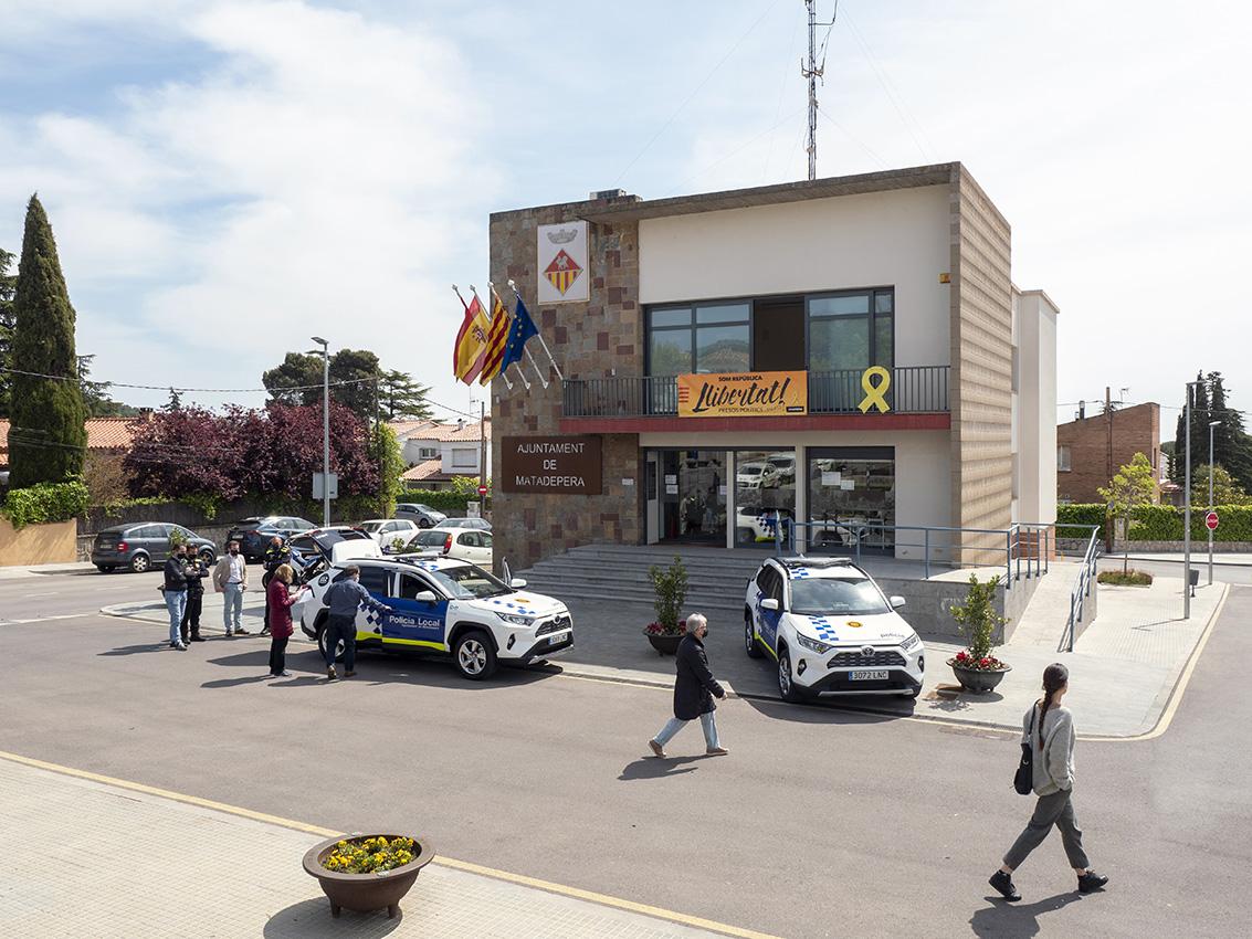 Presentació dels vehicles de la policia local de matadepera | Miquel Badia