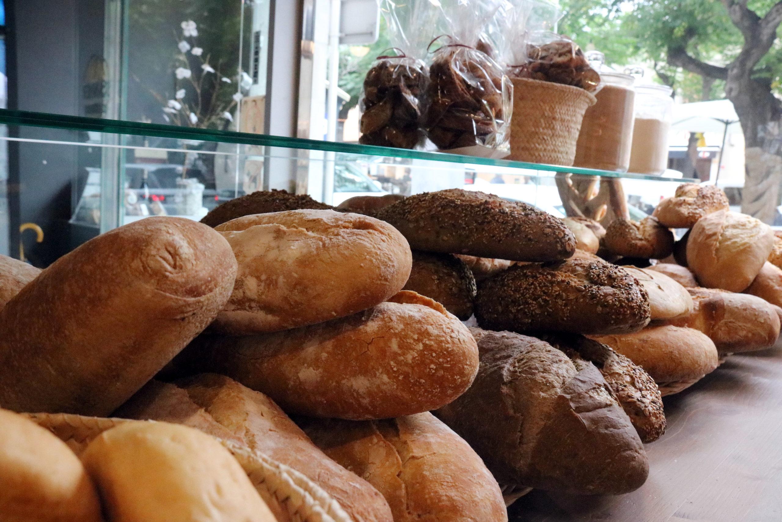 Una pila de pa en una fleca | ACN