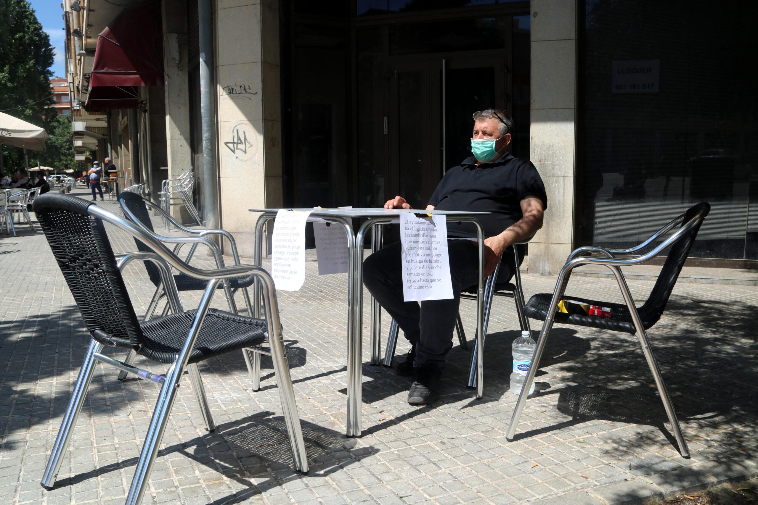 El restaurador de Manresa en vaga de fam | ACN