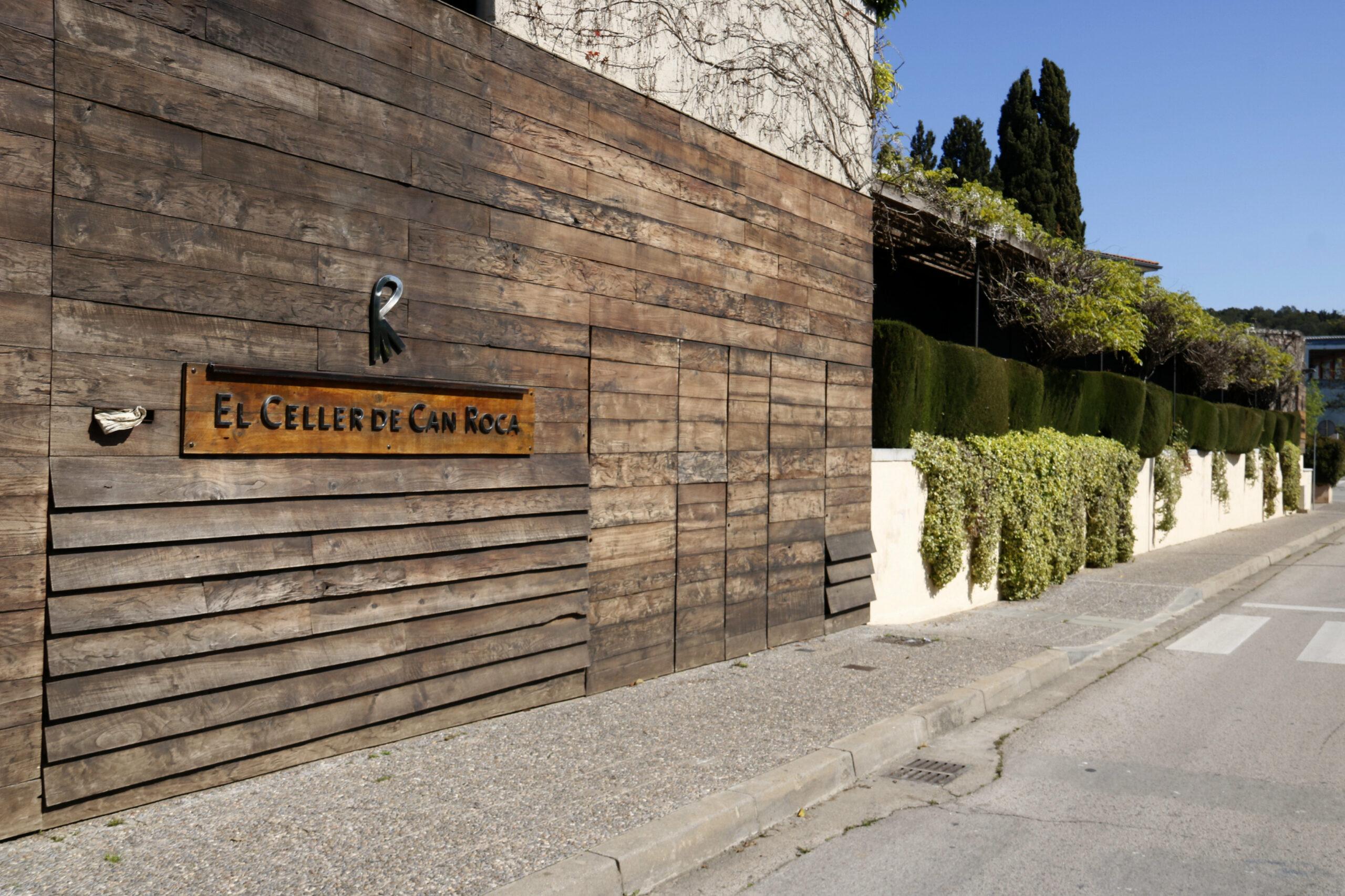 La façana d'El Celler de Can Roca | ACN