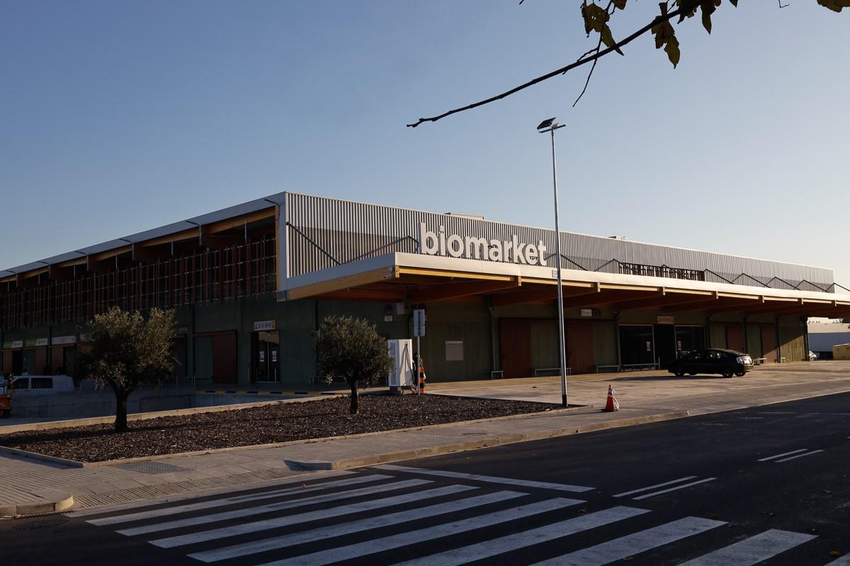 Exterior del Biomarket | Cedida
