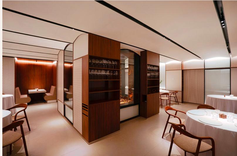 El restaurant Cinc Sentits, de Barcelona, que acaba d'obtenir la segona estrella Michelin / Cinc Sentits