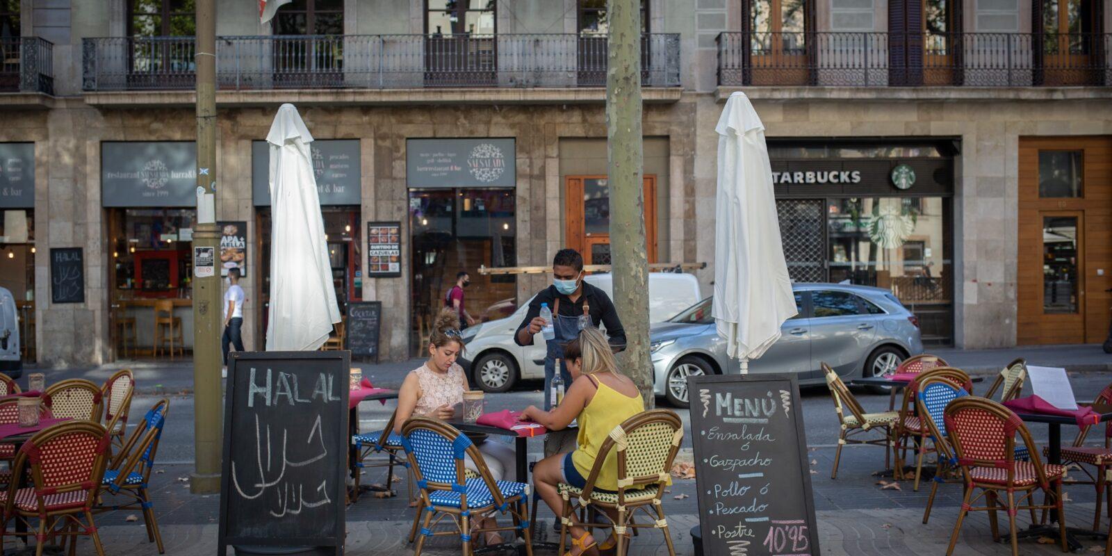 Una terrassa a Sants-Montjuïc / Europa Press