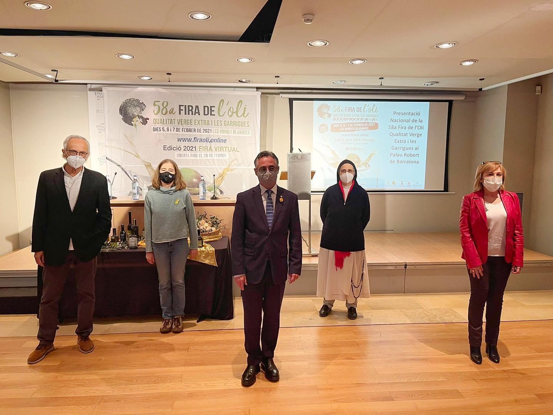 Acte de presentació de la La 58a Fira de l'Oli de Qualitat Verge Extra i les Garrigues | @firaoli