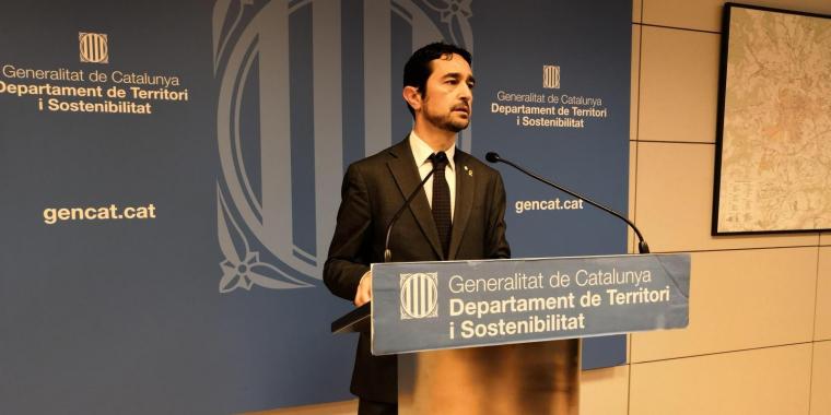 El conseller de Territori i Sostenibilitat, Damià Calvet  | Europa Press