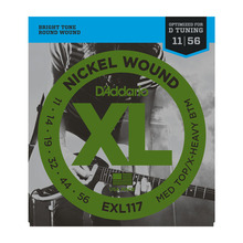 D'Addario EXL117 XL 11-56 Medium / Extra Heavy