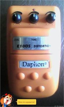 Daphon e10ds 2014 оранжевый