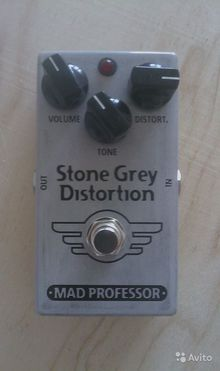 Mad Professor Stone Grey Distortion 2014 Серый
