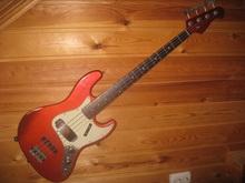 Bluesman Vintage Eldorado Stack Knob 61  Candy Apple Red