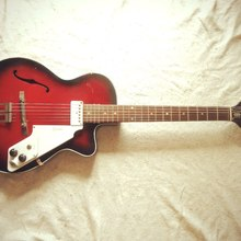 Egmond Kansas 1 ES-1 1969 cherry burst