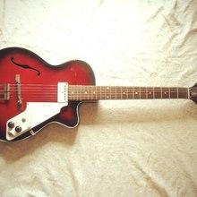 Egmond Kansas 1 ES-1 1969 cherry burst