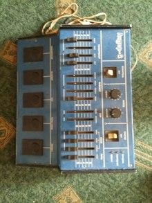 Процессор Лидер - 2 (1982) Синий