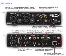 E-MU 1616 с интерфейсом CardBus (PCMCIA Type II)