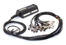 Cordial CYB 12-4 C Мультикор-кабель с распределительной коробкой. 12 входов, 4 выхода, длина 30 м, XLR — разъемы