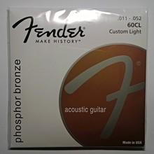 струны для акустической гитары Fender 60CL