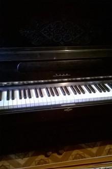 Заря пианино  черный