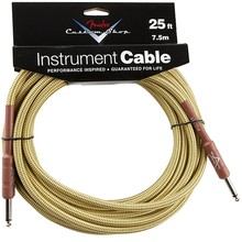 Fender Custom Cable 25' 2014 Tweed