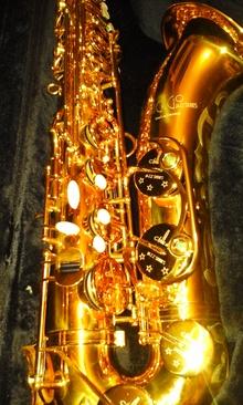 B&S Chicago Jazz Series 2007 золотой лак