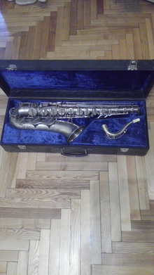 Amati Super Classic Саксофон тенор серебро