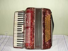Полтава аккордеон  бордовый