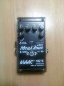 Maximum Acoustics MZ-5 Metal Zone Plus  черный, серый