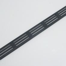 Фальш панель (заглушка) 2U с бортами с вентиляционными отверстиями Rec-K RZ12
