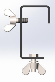 Струбцина (крюк) для подвешивания световых приборов без пластины Rec-K SSP 01