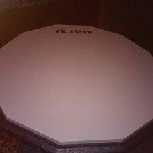 """Vic Firth Тренировочный пэд 12"""" 2008 Серый, чёрный"""