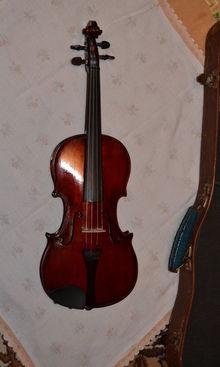 Скрипка мастеровая (без этикета) 3/4 (1960 -1980) Вишня