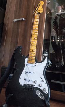 Indy Custom Heavy Relic Strat