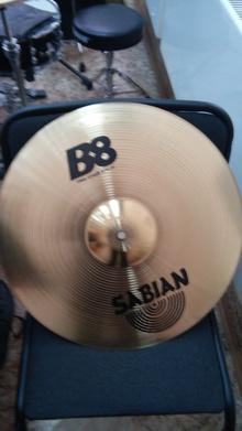 """Sabian b8 18""""-46см 2014 бронза"""