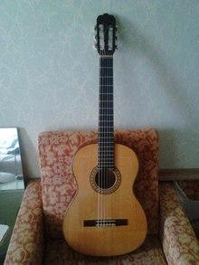 Легендарная мастеровая классическая гитара