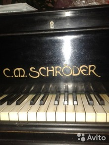 C.M. Schroder Рояль 1905 Чёрный