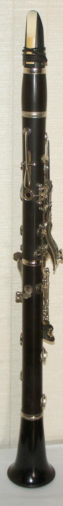 Кларнет отечественный 1985 чёрный
